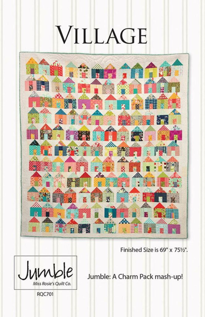 Village quilt kit