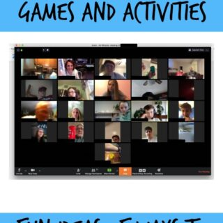 Zoom group games and activities ideas
