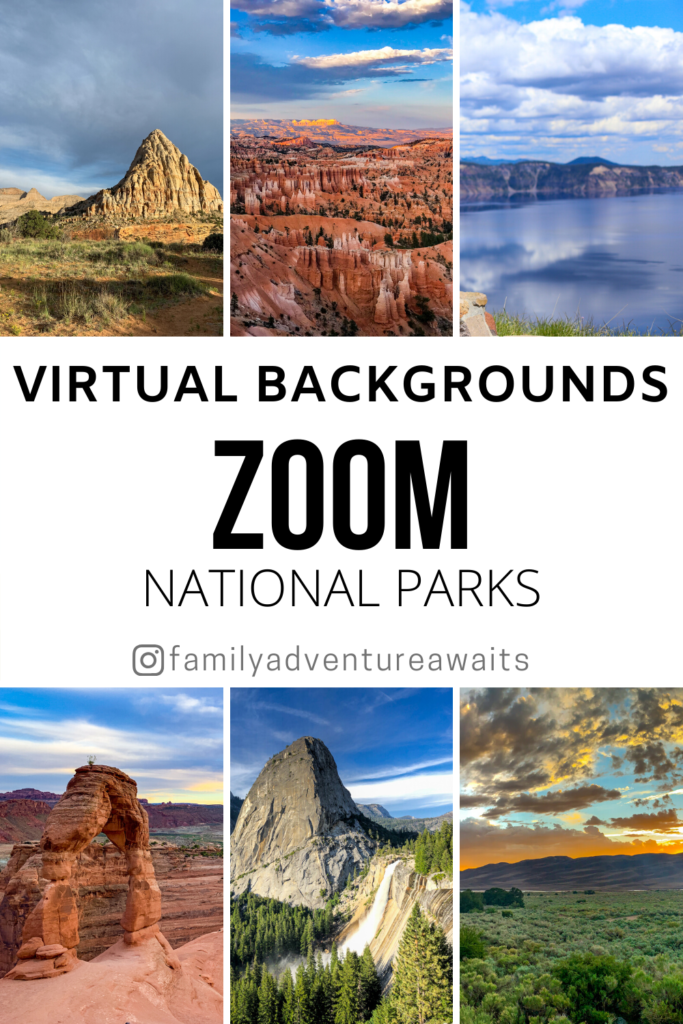Zoom virtual background national parks 1