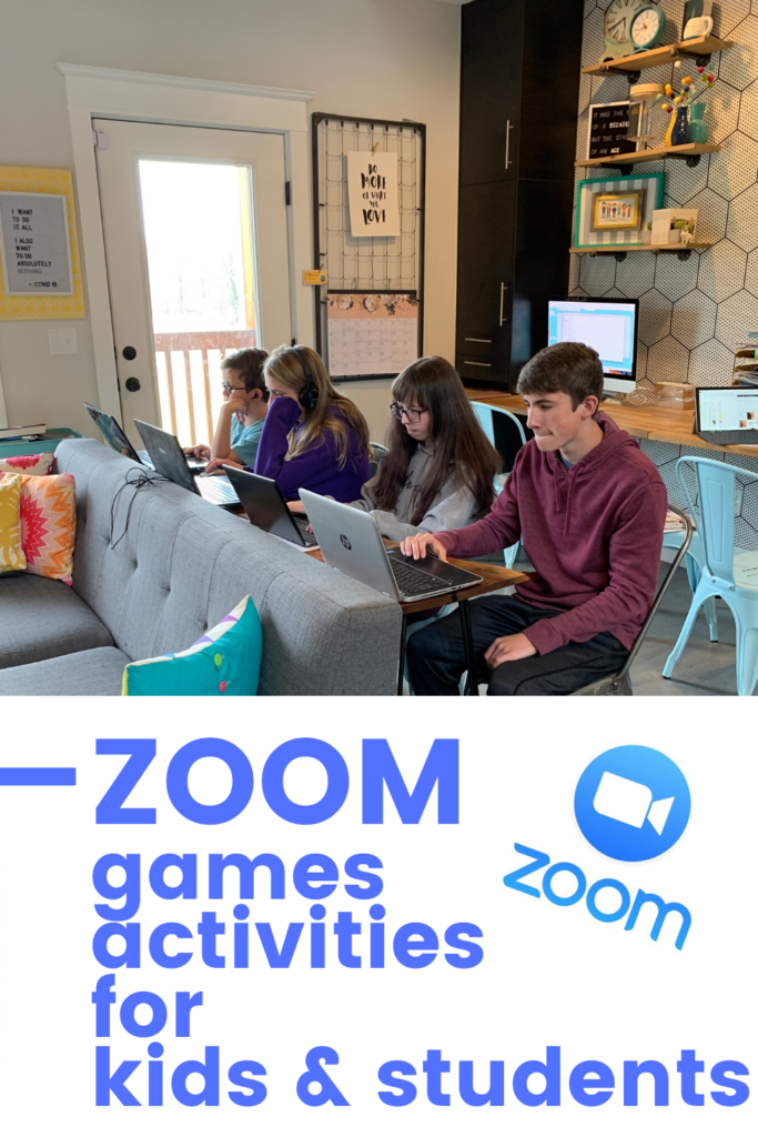 Zoom activities for students