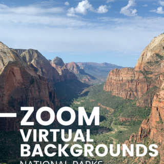 Zoom virtual background national parks 2