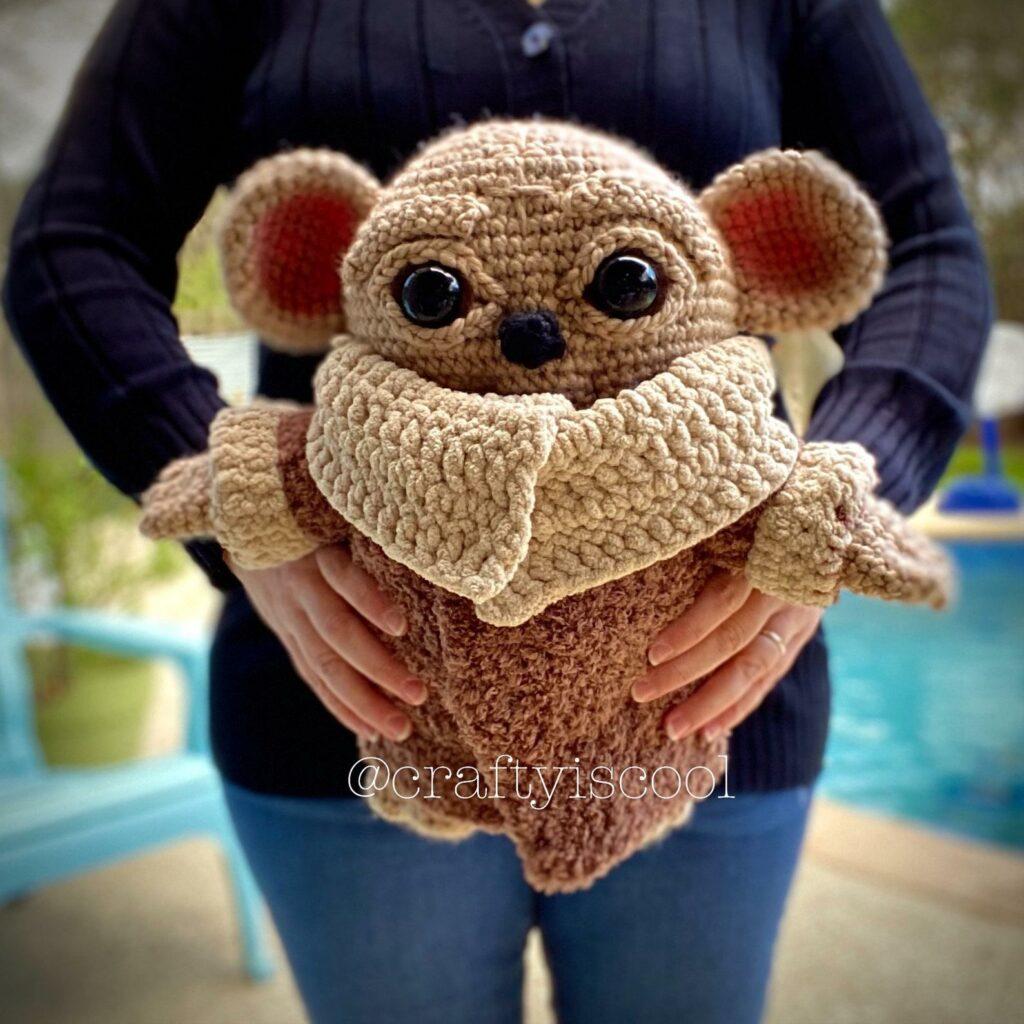 Baby bear yoda pattern crochet