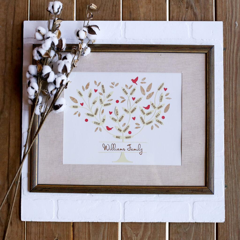 Family tree craft idea 2