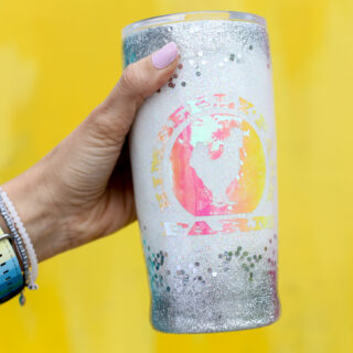 Tips for diy glitter tumbler cup 2