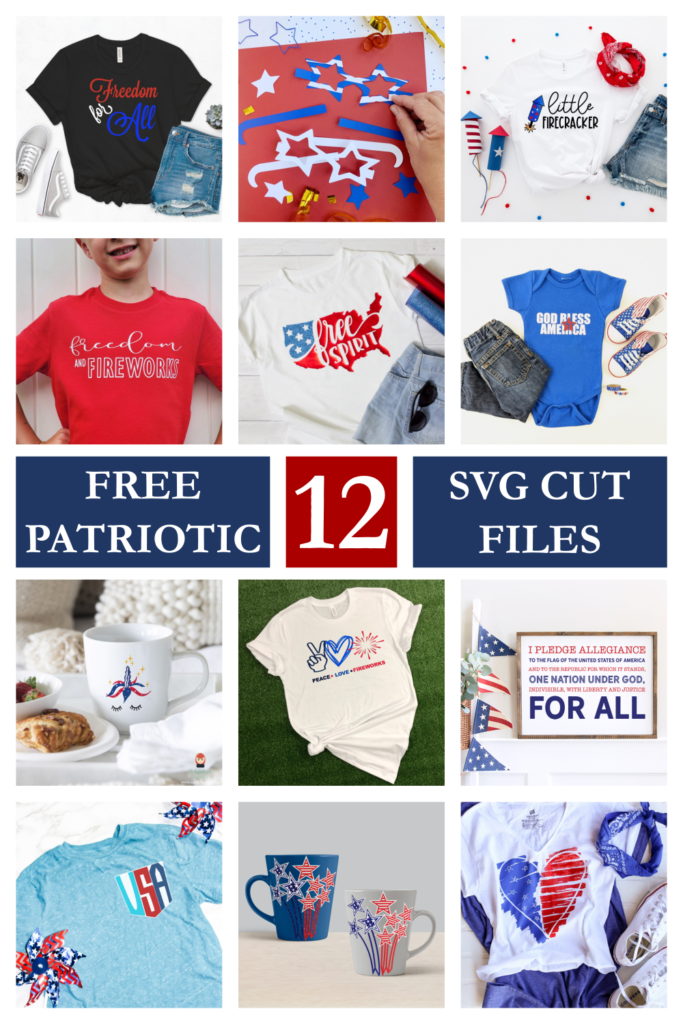 12 free patriotic svg cut files