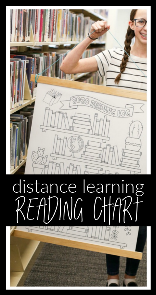 Reading chart printable free