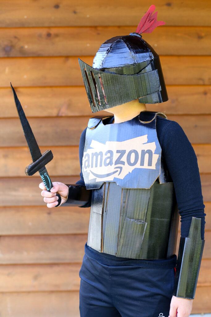 Box costume boxtume knight 33