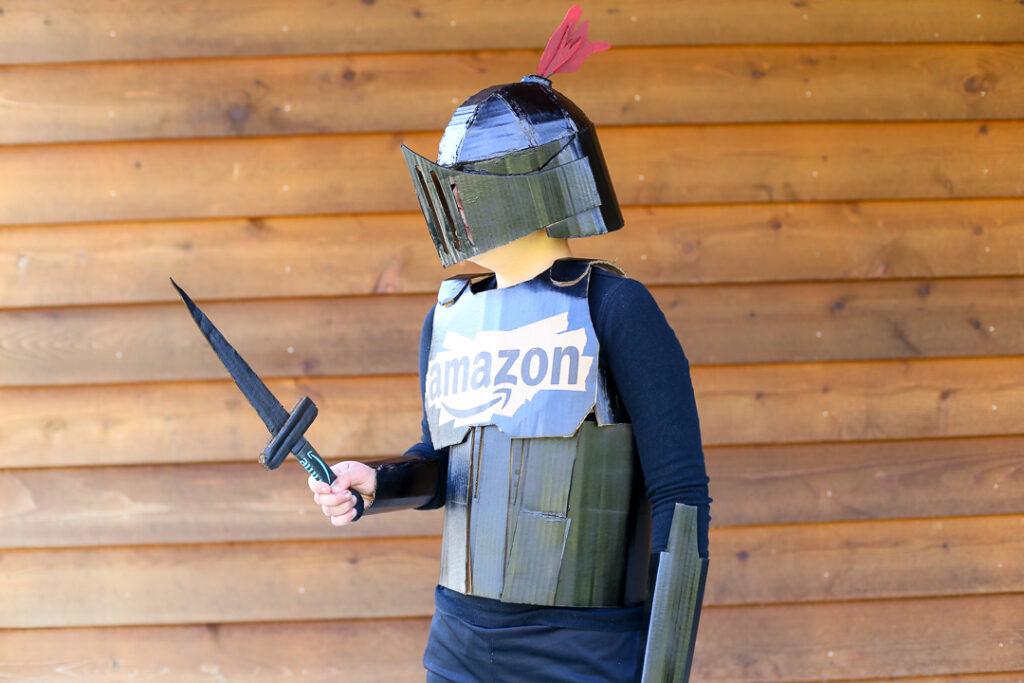 Box costume boxtume knight 35