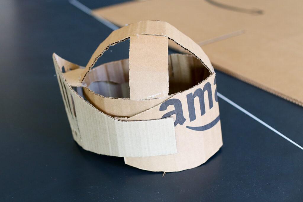 Box costume boxtume knight 8