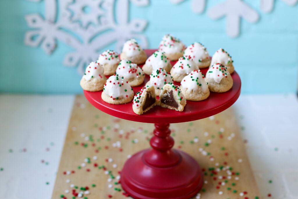 Hershey kiss cookies 4