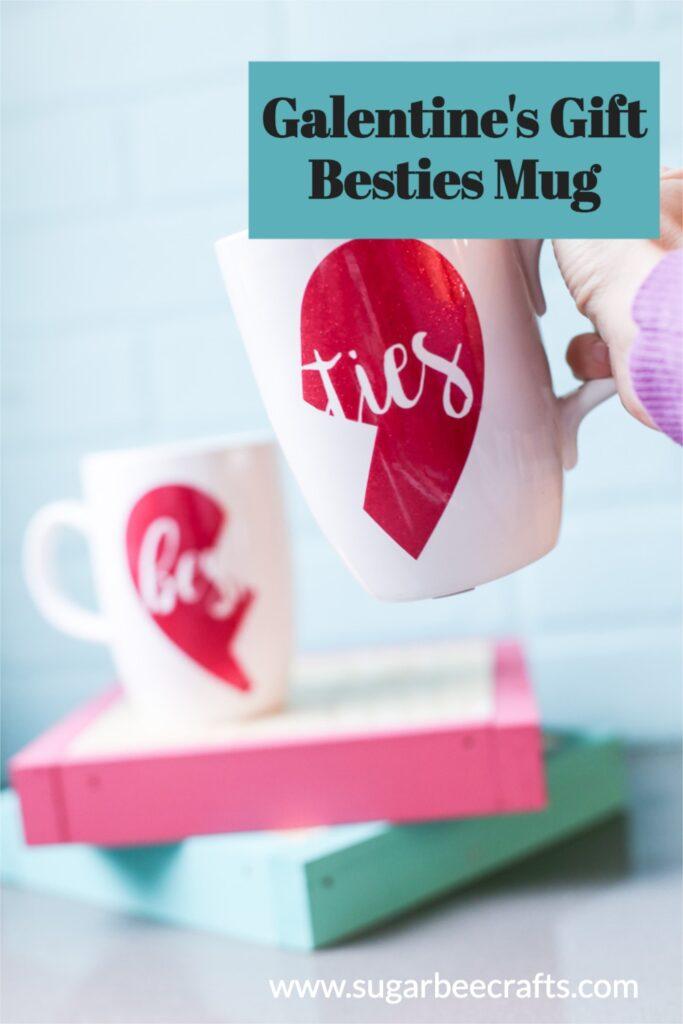 Galentines gift besties mug 2