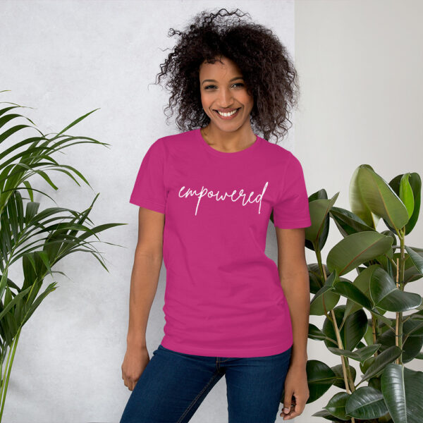 Unisex premium t shirt berry front 6024061335416